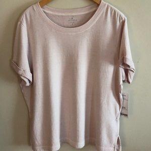 Athleta Eco Wash Restore Sweatshirt- Soft Lilac